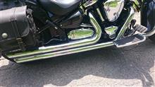 XV1600ロードスターCOBRA スピードスター スラッシュダウンの単体画像