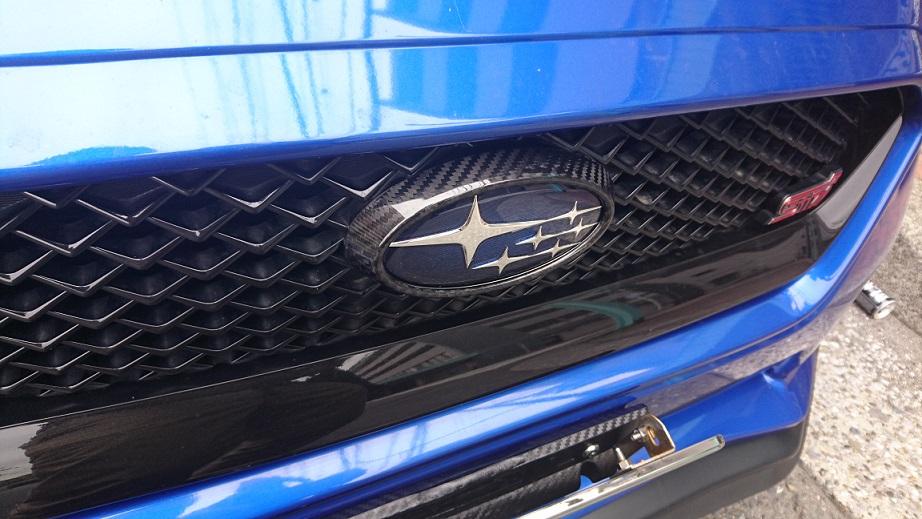AXIS-PARTS GT-DRYカーボン エンブレム(エンブレムカバー)