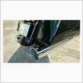 """S&S Mk45 Chrome Tracer End Cap - Chrome Body Finish - 4.5"""" Slip-On"""