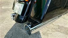 """ロードグライドスペシャルS&S Mk45 Chrome Tracer End Cap - Chrome Body Finish - 4.5"""" Slip-Onの単体画像"""