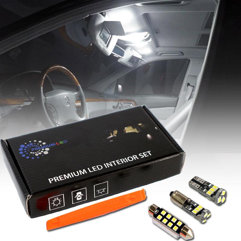 Premium LED Mercedes S-Class W220 22pcs Premium LED Interior Set