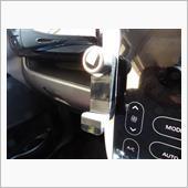 CAR MATE / カーメイト スマホホルダー ブラック 携帯電話/スマートフォンホルダー / UP417