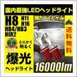 REIZ TRADING LEDフォグランプ H8/H11/H16/HB4/HB3/H10/HIR2 16000ルーメン