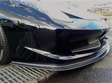458スパイダーKohlenstoff フロントスポイラーの単体画像