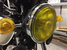RZ250MARCHAL ヘッドライトの単体画像