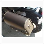 トライアンフ(純正) 革製サイドバッグ