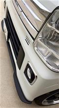 エブリイワゴンGARAGE VARY VALIANT フロントリップスポイラーの全体画像
