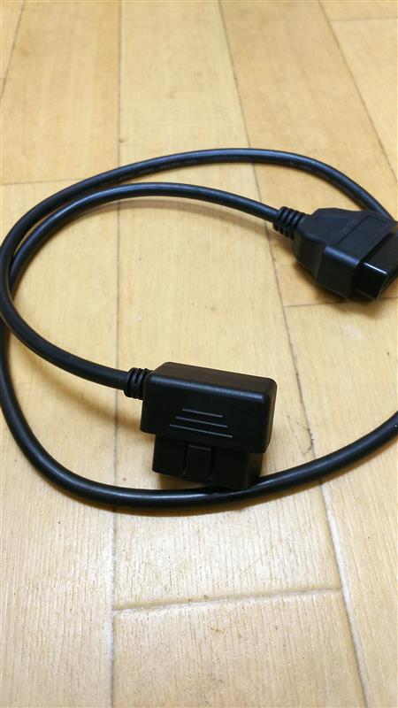 ノーブランド L型OBD2 ケーブル