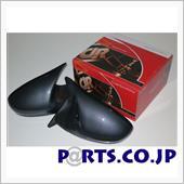 DANGAN RACING GTSミラー LED カーボンルック ミラー面電動調整 右ハンドル