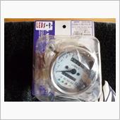 キジマ(Kijima) スピードメーター 白 青LEDライト インジケーター付き 220km 510-022