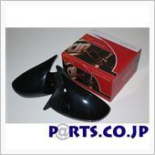 DANGAN RACING GTSミラー LED ブラック ミラー面電動調整 右ハンドル