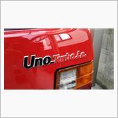 フィアット(純正) Uno Turbo i.e.エンブレム