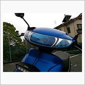 バイクパーツセンター ライヴディオⅡ型用 ヘッドライトレンズ