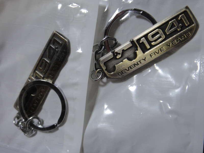 中華 Seventy Five Years 1941 Willys Car Key Holder
