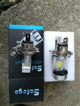 GSX400インパルスSafego LED ヘッドライトの全体画像