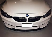 M3 セダンLIGHTWEIGHT Front lip carbon fiberの単体画像