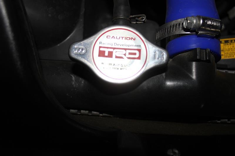 TRD / トヨタテクノクラフト ラジエターキャップ