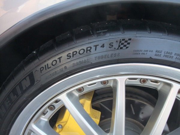 MICHELIN Pilot Sport PILOT SPORT 4S サイズ不明