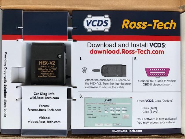 Ross-Tech HEX-V2 インターフェース 3 のパーツレビュー | ポロ