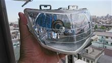 アドレスV125メーカー不明 台湾仕様ポジションランプ内蔵ヘッドランプの単体画像