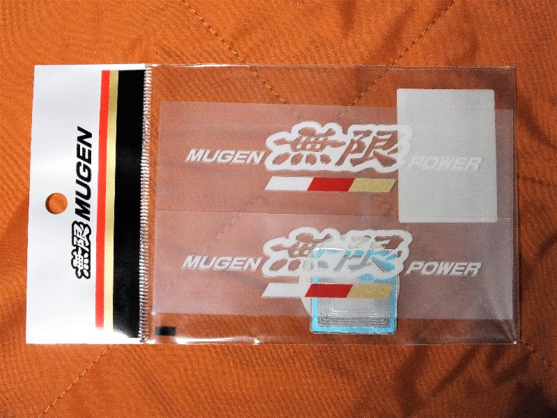 MUGEN / 無限 MUGEN POWER STICKER A