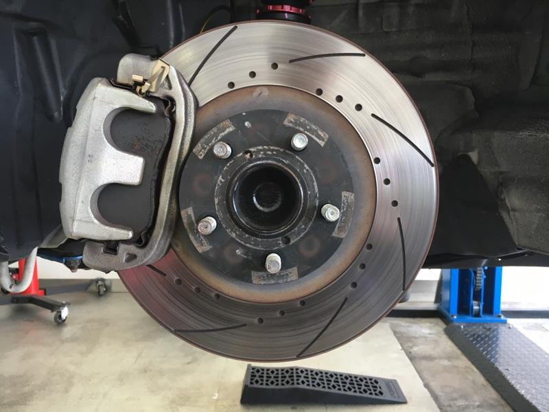 SARD Black Ram Slit Disc Rotor