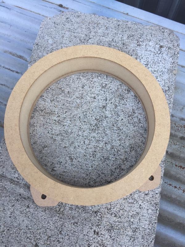 ヤフオク MDF製リア用17センチスピーカー用バッフル