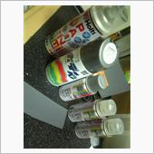スズキ(純正) 純正色缶スプレー(ZVC)スチールシルバーメタリック