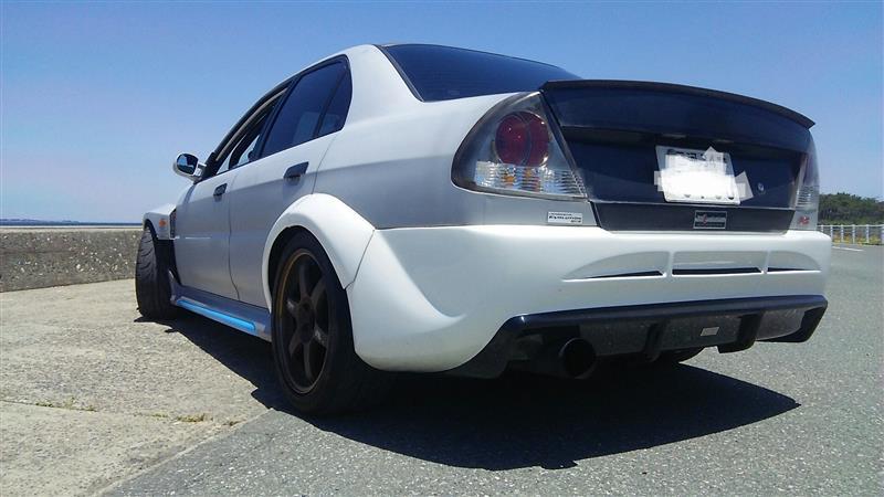 VeilSide Rear Bumper
