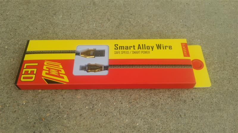 earldom smart alloy wire(Android用充電ケーブル)