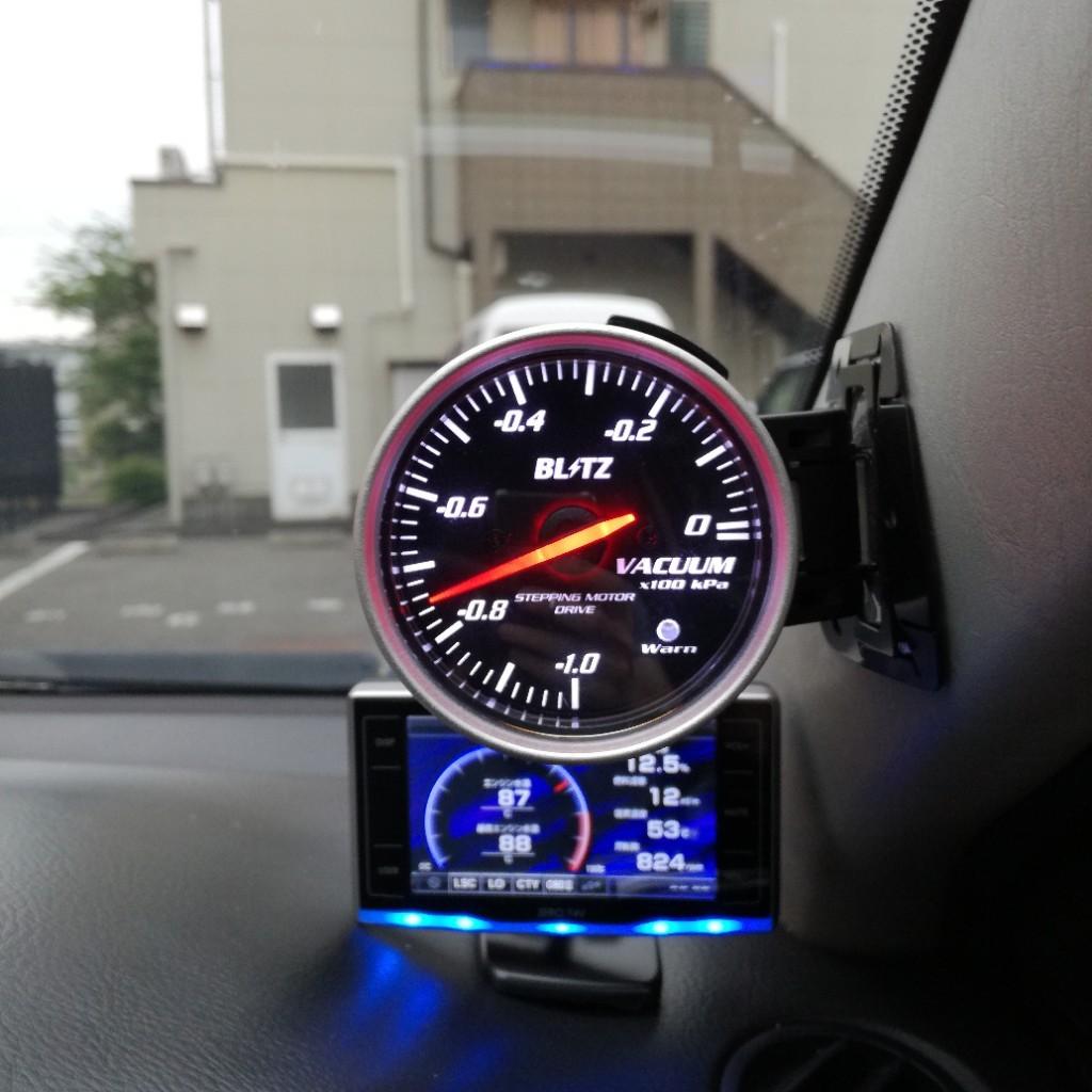 BLITZ RACING METER SD VACUUM METER