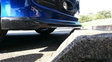 フィット(RS)TAKERO'S フロントリップスポイラーの全体画像