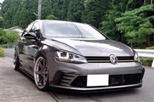 ゴルフ (ハッチバック)VW  / フォルクスワーゲン純正 クラブスポーツGTIフロントバンパーの単体画像