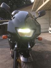 TRX850不明 LEDヘッドライト 20wの全体画像
