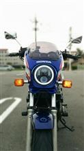 CB750不明 ホンダ専用エンジェルリング付き超照度のLEDヘッドライトの単体画像