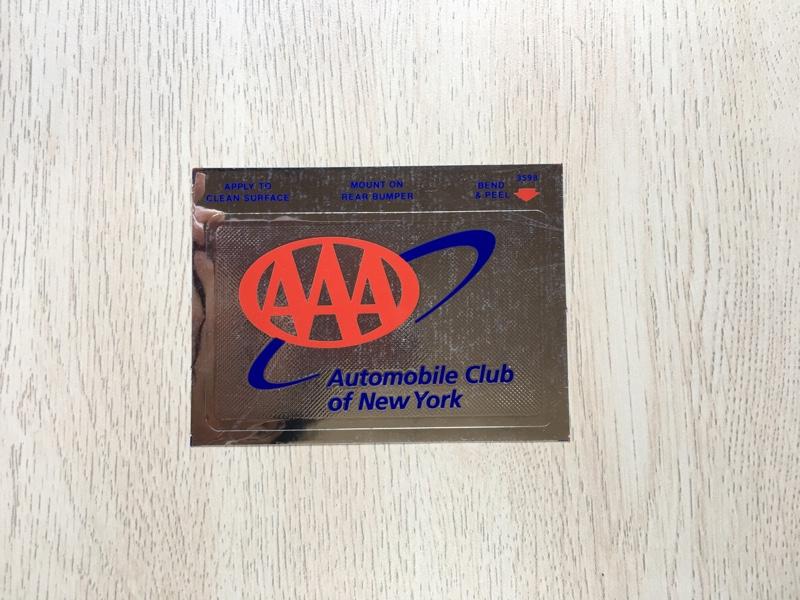 American Auto Association Bumper Sticker