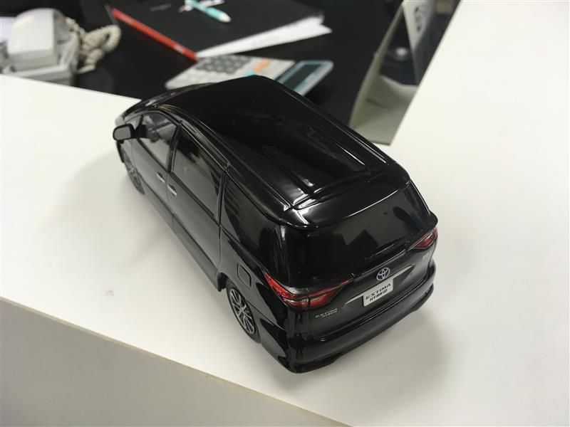 トヨタ(純正) モデルカー 202ブラック