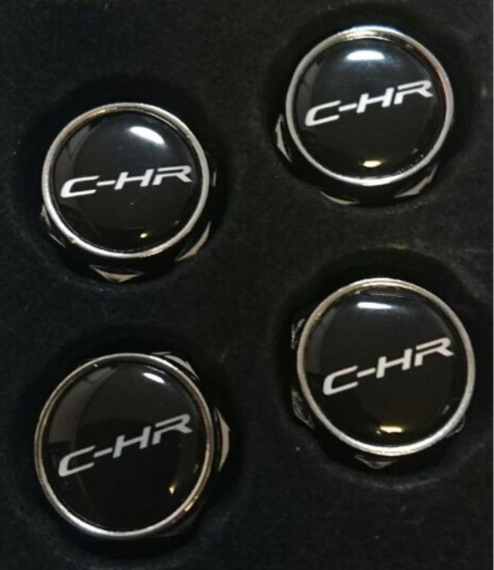 C-HR ナンバーナット