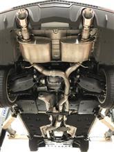 キャデラックCORSA Performance Cat-Back Exhaust Systemの単体画像