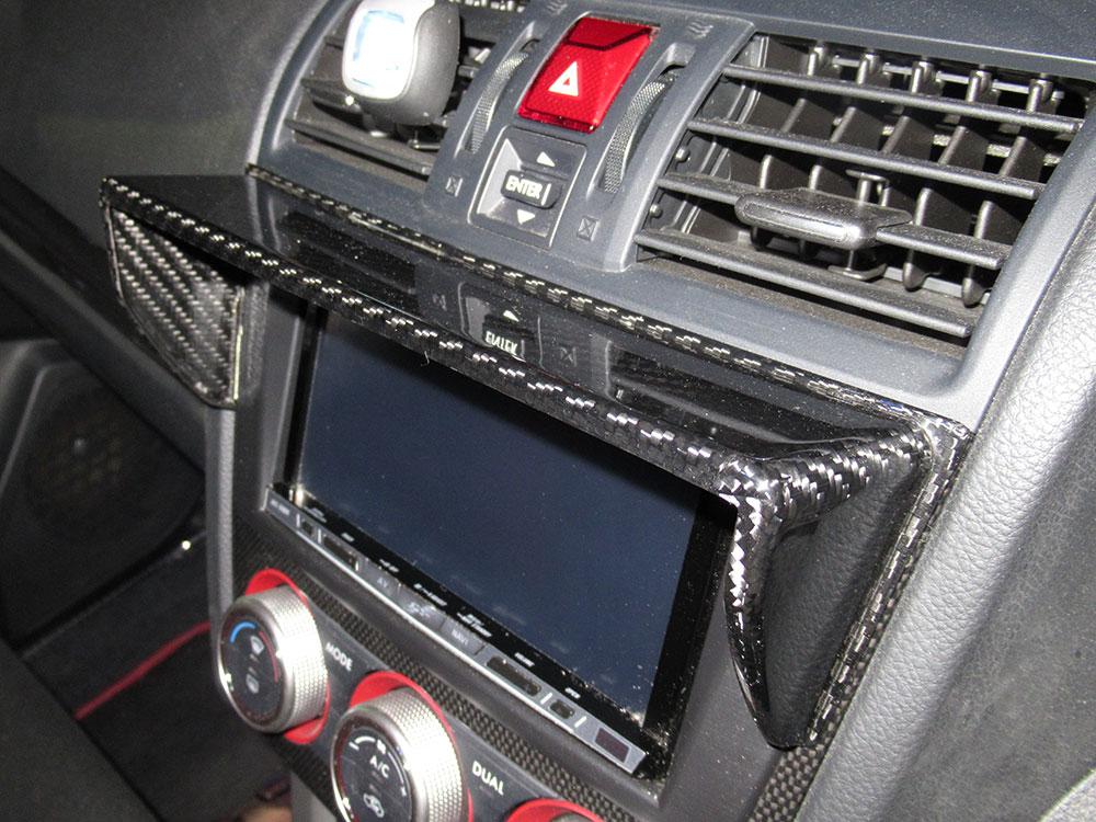 AXIS-PARTS GT DRYカーボンナビバイザー