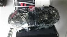 RS250GZYF sc59 ヘッドライト スモークレンズの単体画像