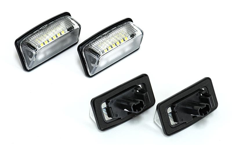 メーカー不明 18連×2 LEDライセンスランプ