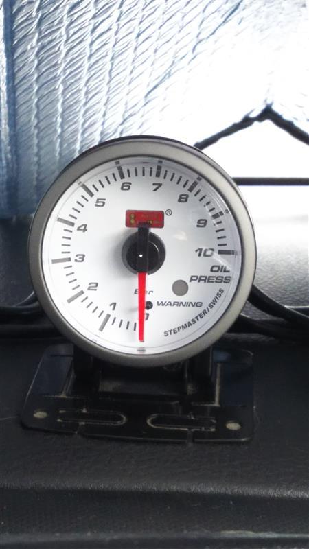 AutoGauge SM-シリーズ SMワーニング 油圧計