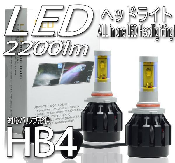 海外製 HB4 LED イエローバルブ