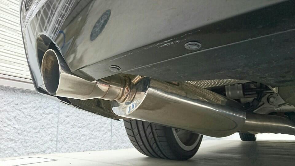 afe BMW F10 N55用マフラー