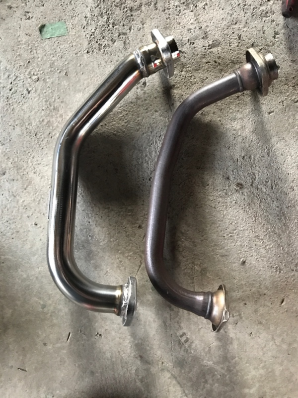 BLITZ FRONT PIPE