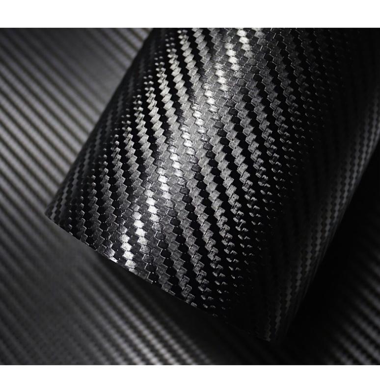 IIMondoMall 3D カーボンシート リアル カーボン調 カーボンステッカー 汎用 エア抜き溝有りタイプ 152×100cm