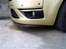 C4 ピカソセアト(純正) Cupra R フロントリップスポイラーの全体画像
