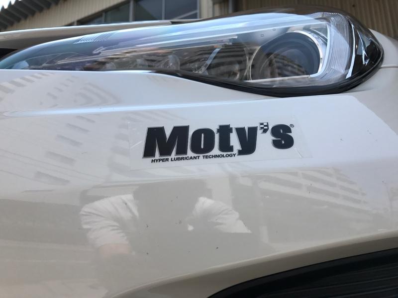 Moty,s トライボジャパン Moty,sステッカー ミニ