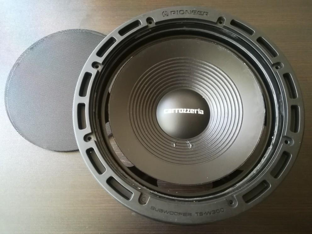 PIONEER / carrozzeria TS-W300-S